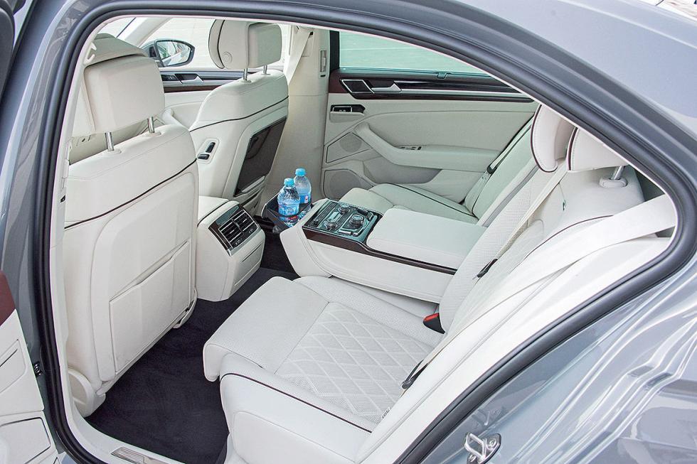 VW Phideon asientos