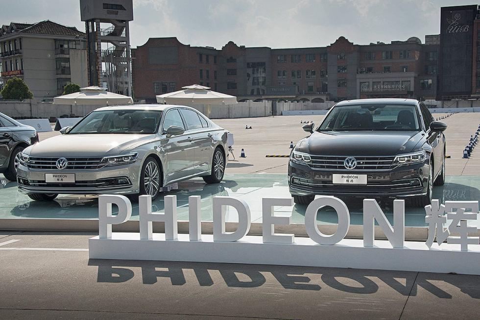 VW Phideon en China presentación