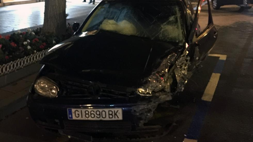 Volkswagen accidente Santander