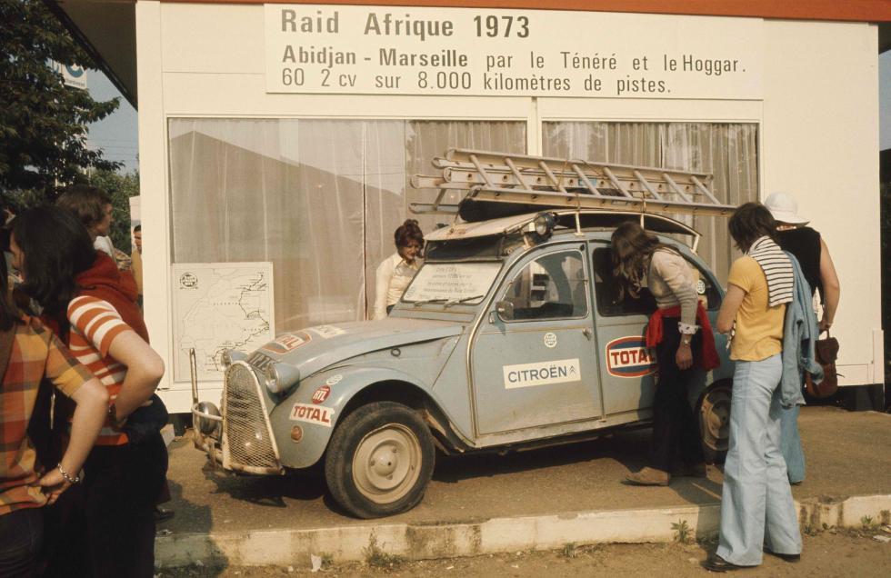 Citroën y la aventura: rumbo a lo desconocido