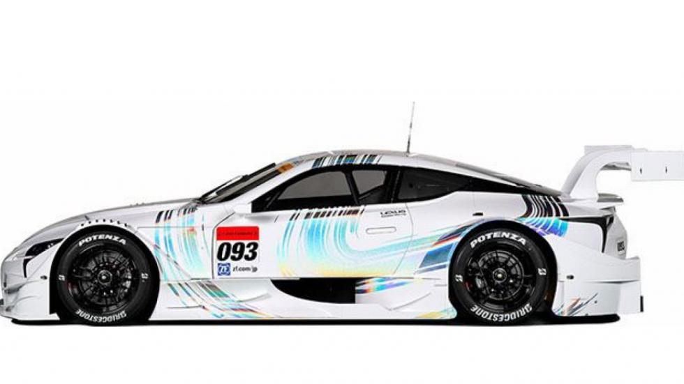 Lexus LC 500 Super GT lateral