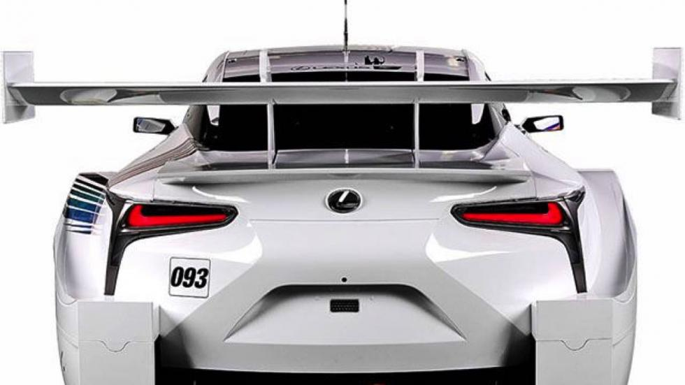 Lexus LC 500 Super GT trasera