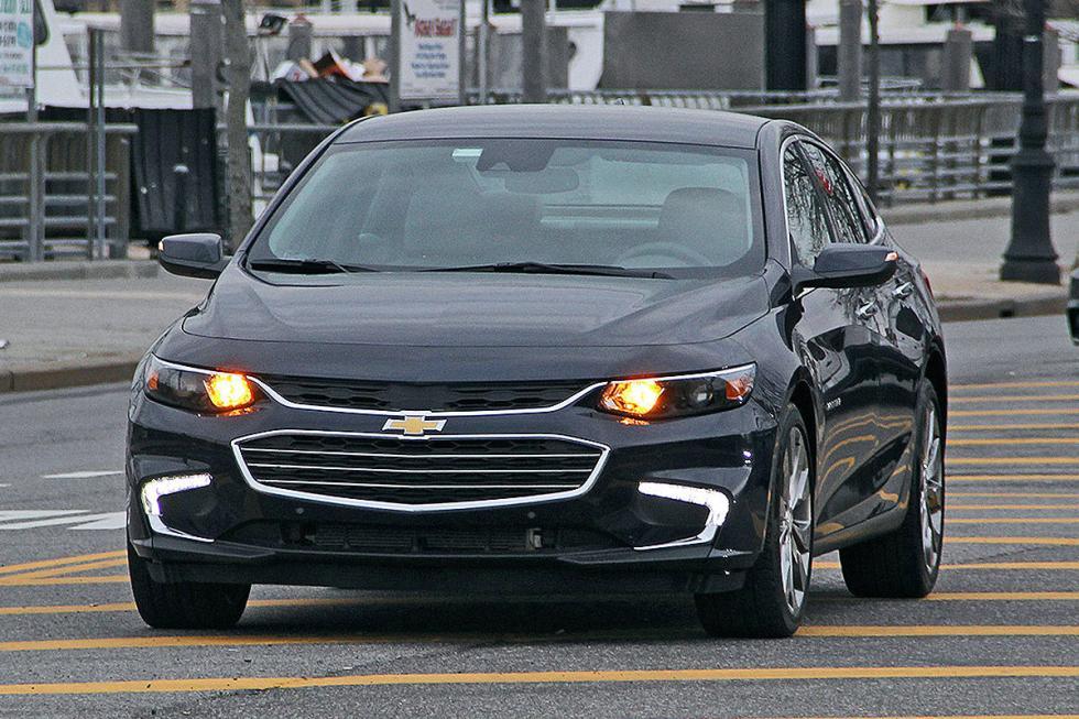 Chevrolet Malibu morro faros