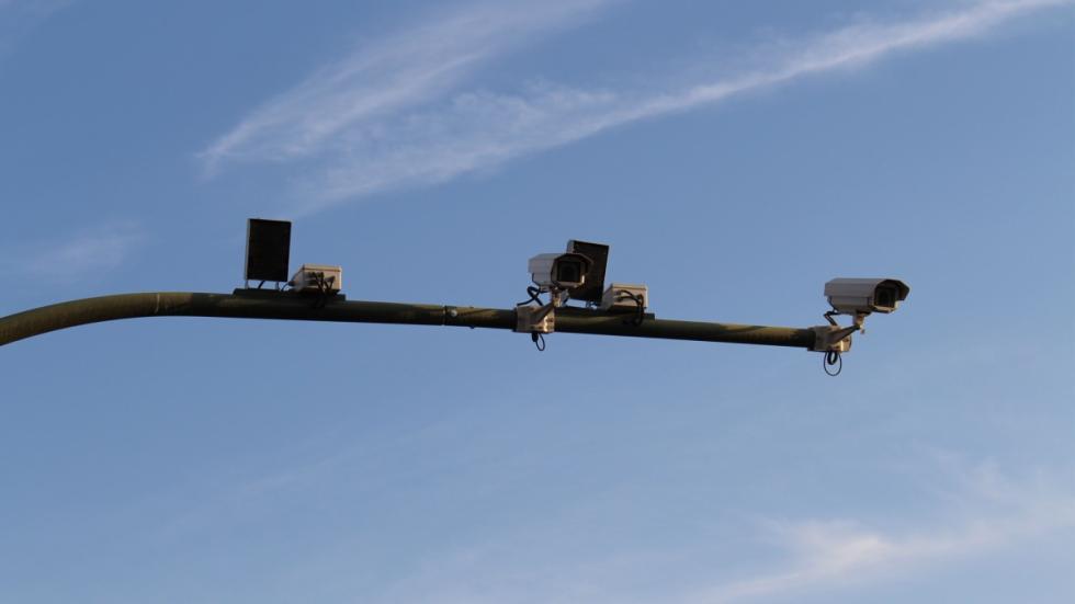 cámara tramo controlado