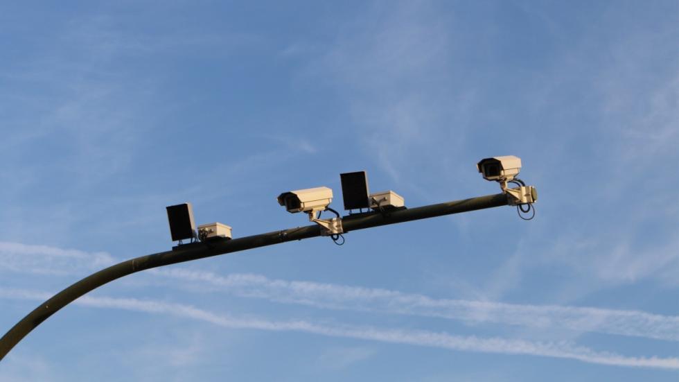 El primer radar de tramo de Madrid capital