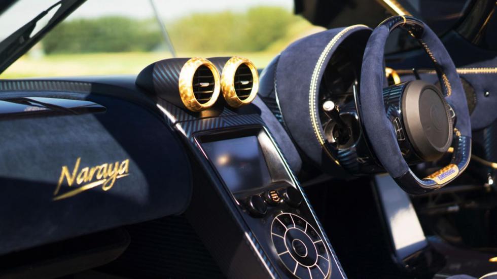 Koenigsegg Agera RS Nayara interior
