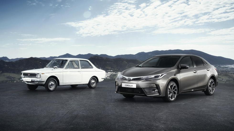 1966 - 2016 - 50 años de historia del Toyota Corolla