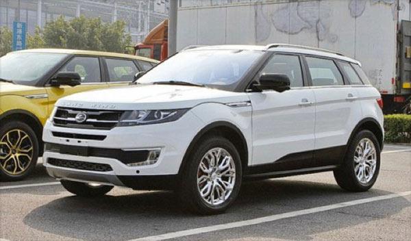 copias chinas coches Landwind X7