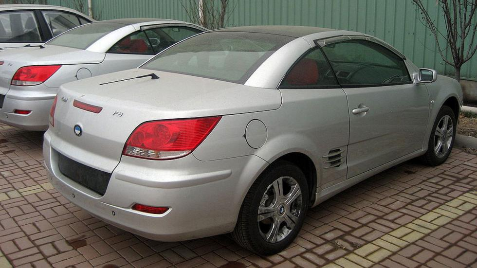 copias chinas coches BYD F8