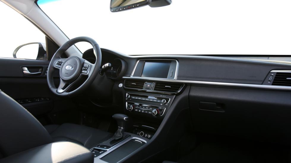 interior del nuevo Kia Optima