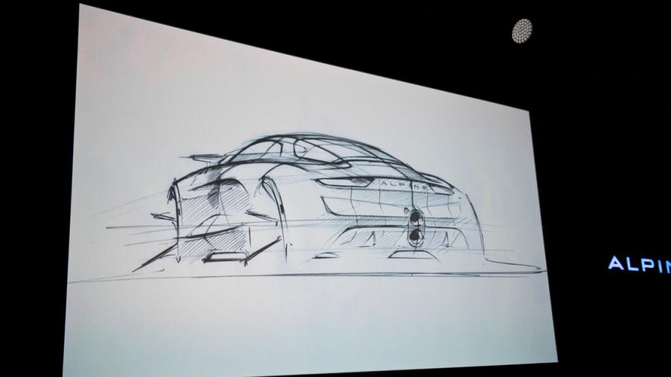 Alpine Vision Concept diseño