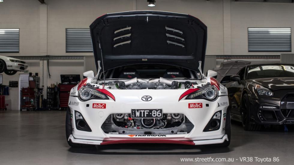 Toyota GT86 de 1.000 CV