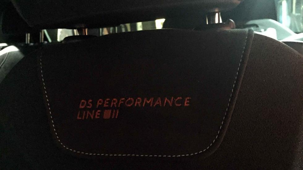 DS Performance Line detalle asientos