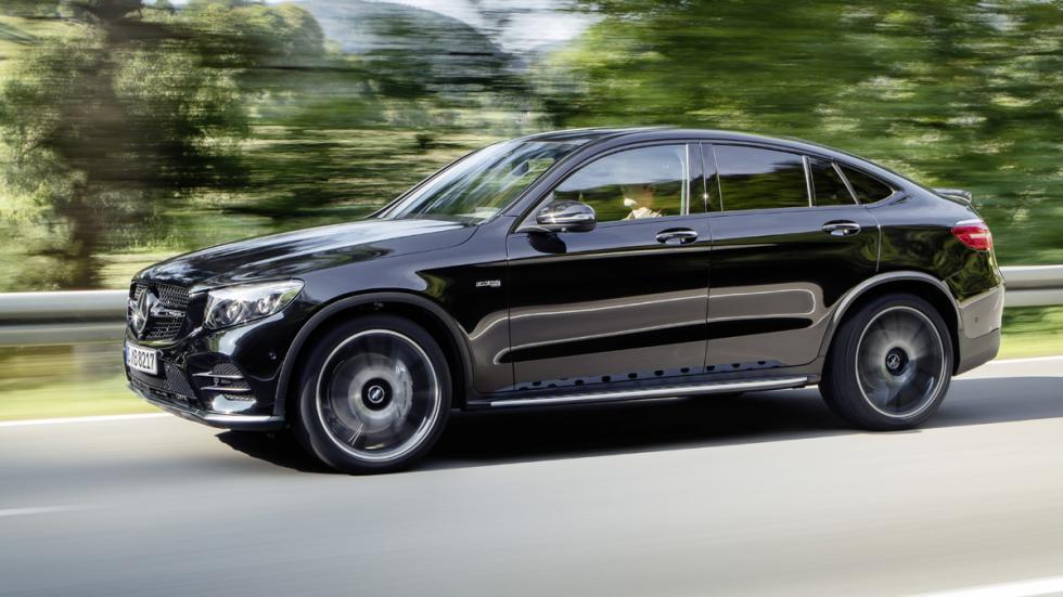 Mercedes-AMG GLC 43 Coupé lateral