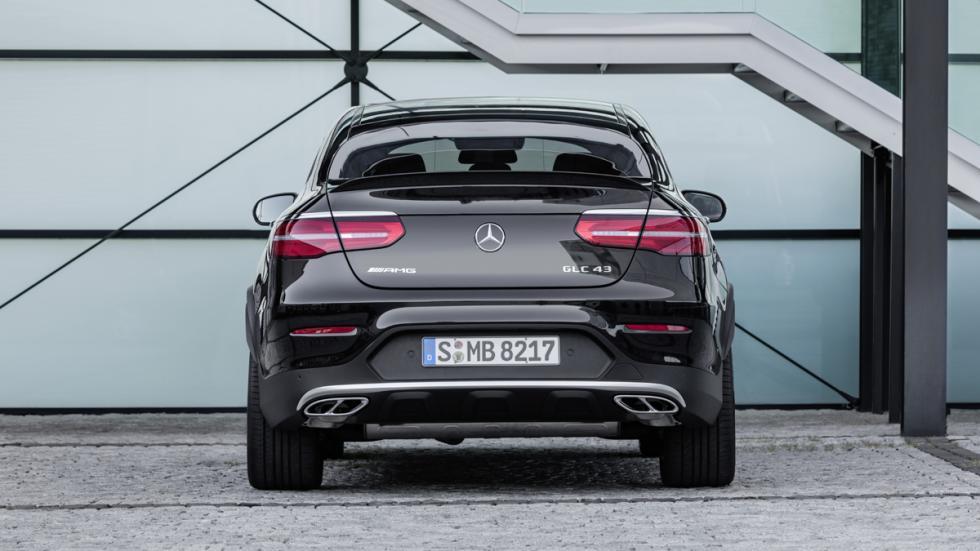 Mercedes-AMG GLC 43 Coupé trasera