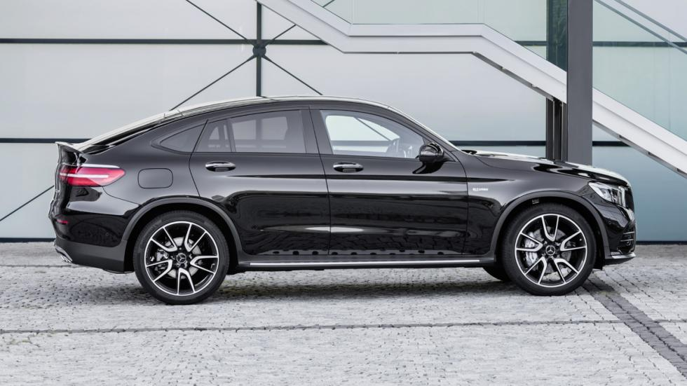 Mercedes-AMG GLC 43 Coupé perfil