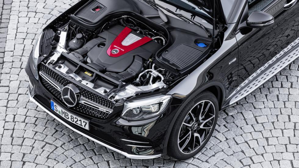 Mercedes-AMG GLC 43 Coupé motor