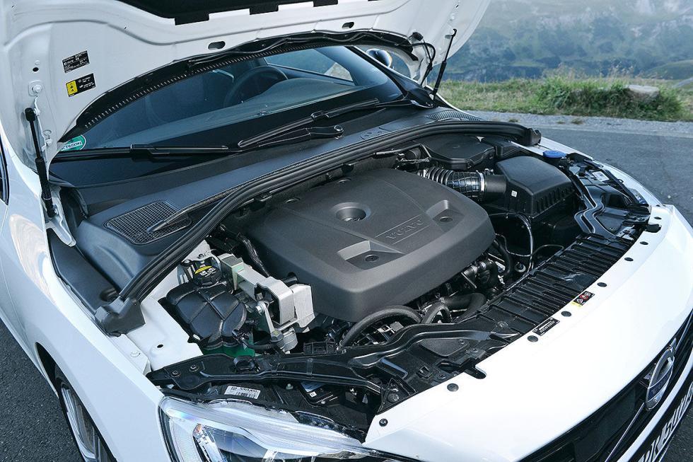 Volvo S60 Polestar motor