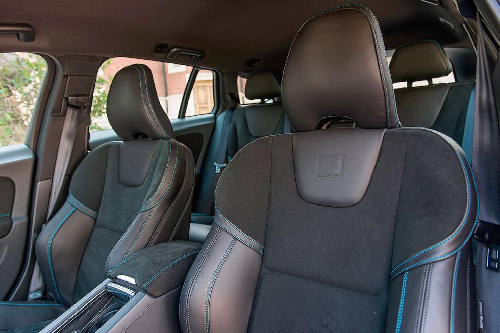 Volvo S60 Polestar asientos