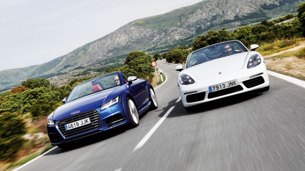 Audi TT vs Porsche Boxster