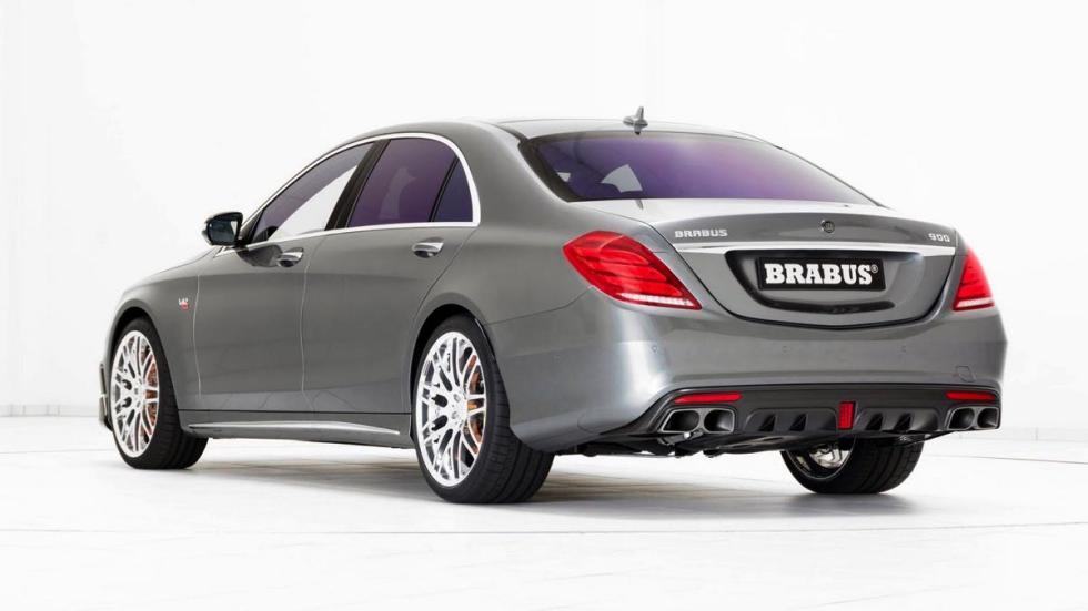 Mercedes Clase S Brabus 900 tres cuartos traseros