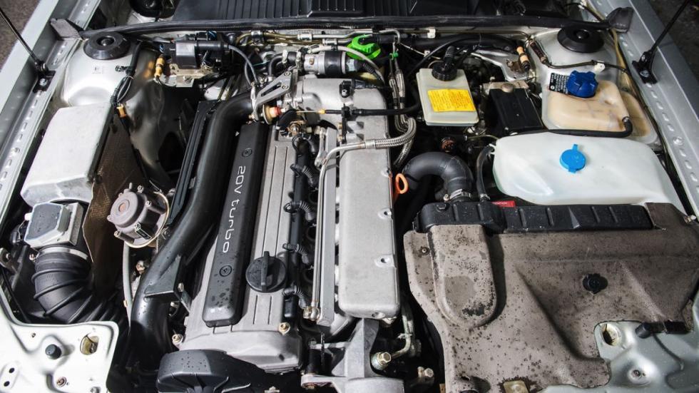 Audi Quattro Turbo motor