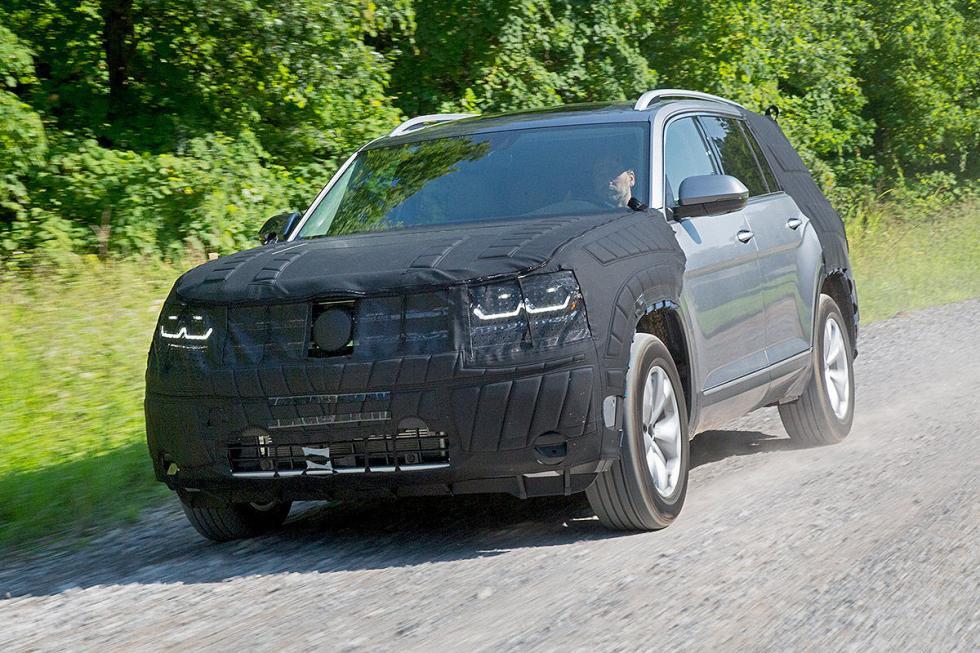 Prueba: Volkswagen Teramont 2016 morro