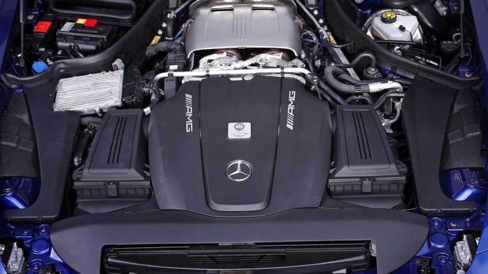Mercedes-AMG GT S Piecha Design motor