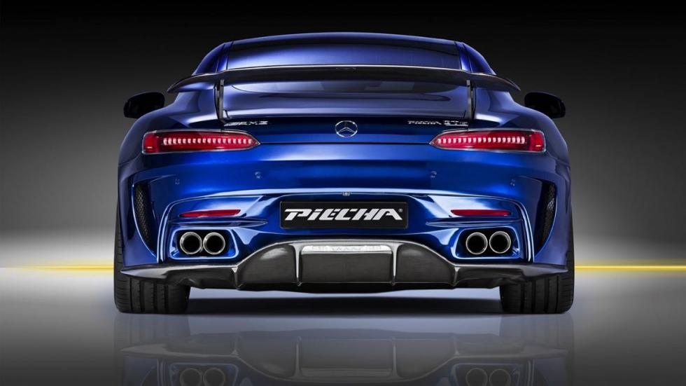 Mercedes-AMG GT S Piecha Design trasera
