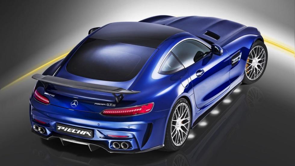 Mercedes-AMG GT S Piecha Design aerea