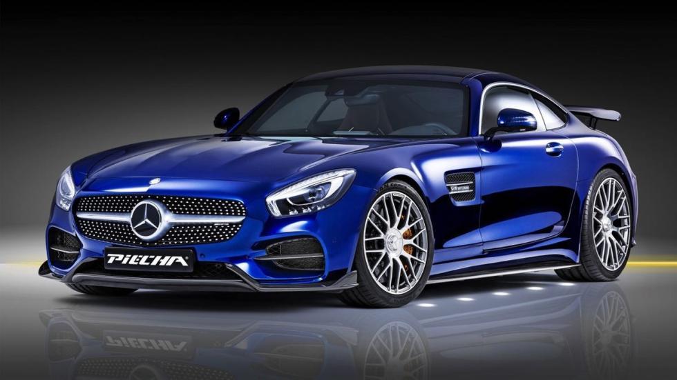 Mercedes-AMG GT S Piecha Design tres cuartos delanteros