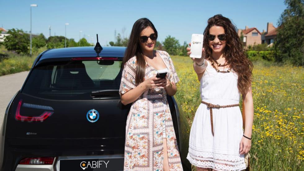 Cabify Electric y BMW i3