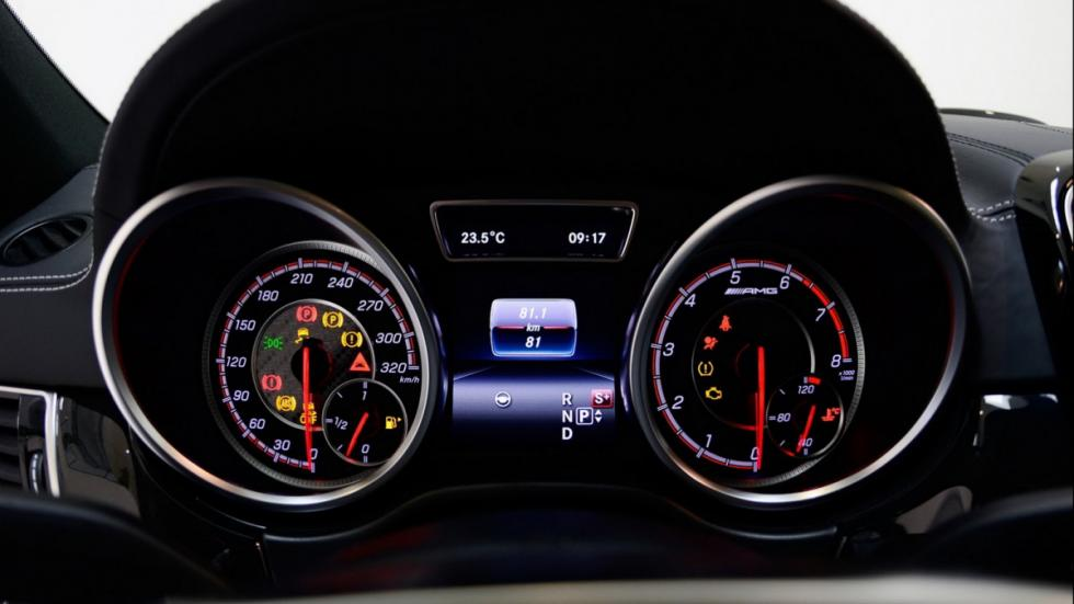 relojes del AMG GLE 63S Coupe LEDS