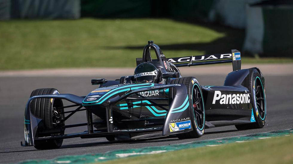 Jaguar Formula E pruebas