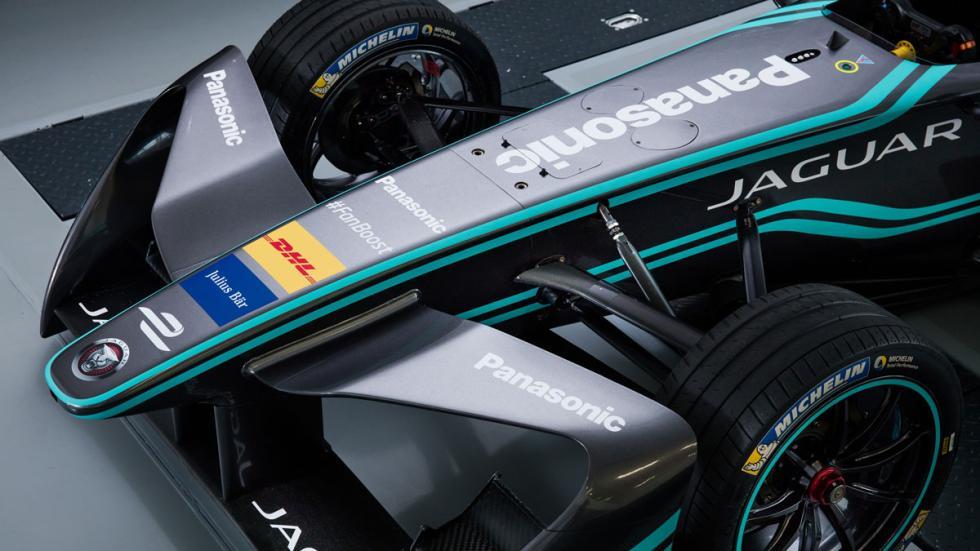 Jaguar Formula E alerón