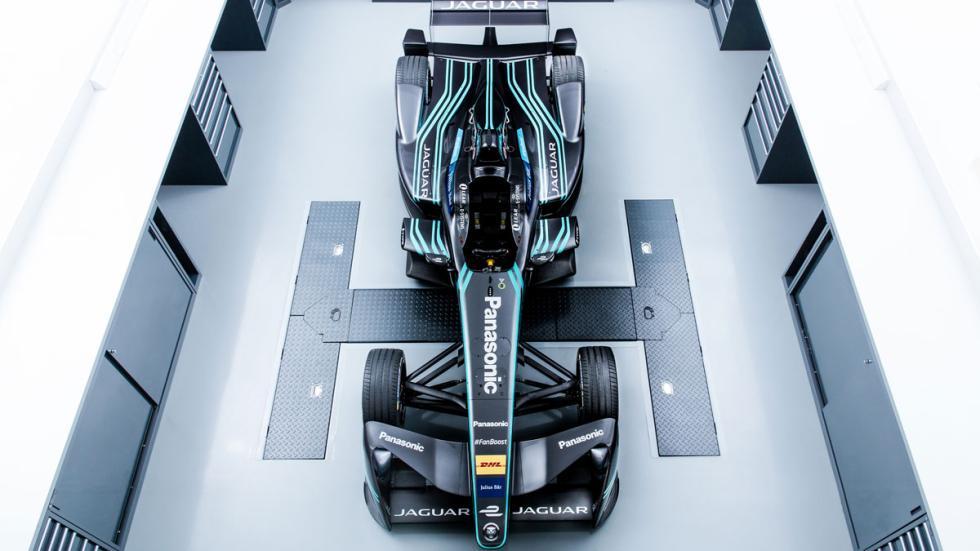 Jaguar Formula E cenital
