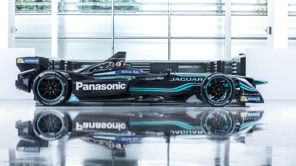 Jaguar Formula E lateral