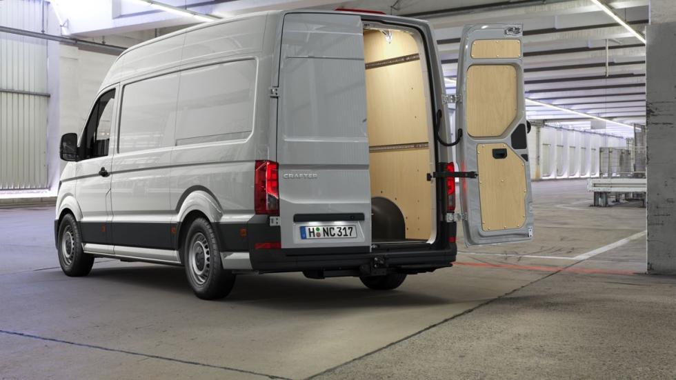 Volkswagen Crafter 2017 carga
