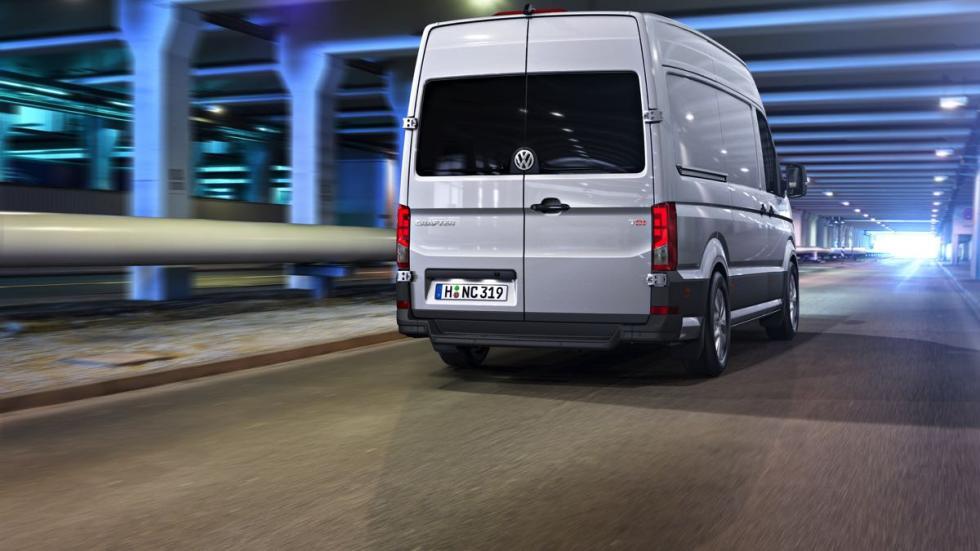 Volkswagen Crafter 2017 trasera