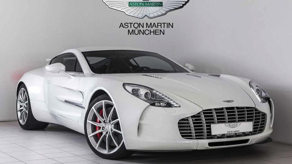Aston Martin One-77 tres cuartos