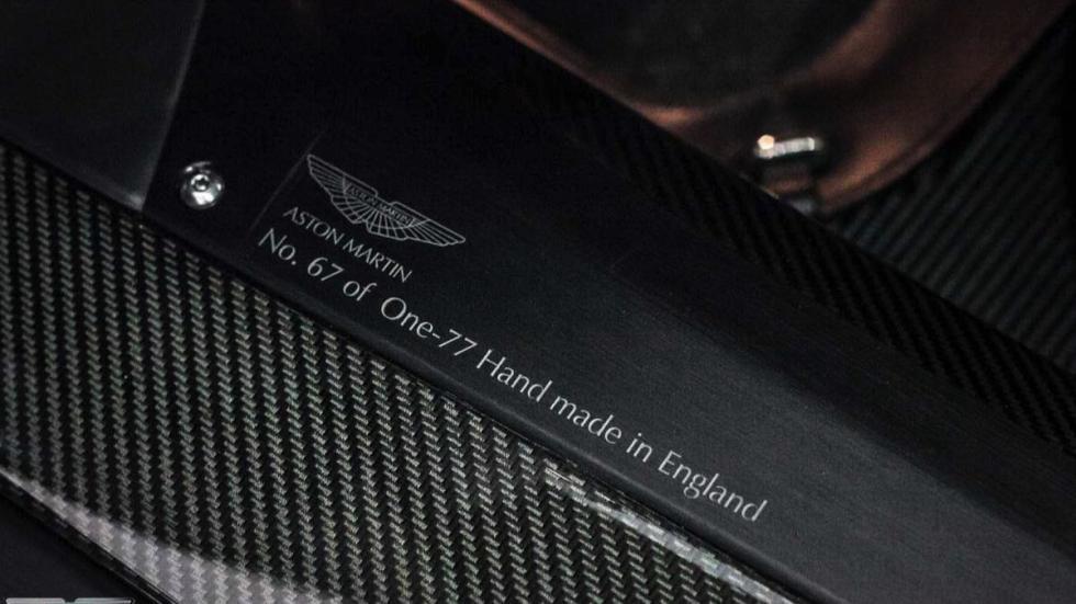 Aston Martin One-77 detalle