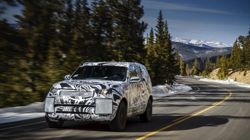 Land Rover Discovery prueba
