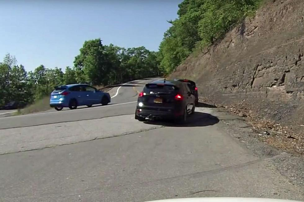 Accidente Ford Focus RS
