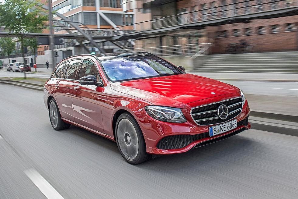 Prueba: Mercedes Clase E Estate 2016 morro dinámica