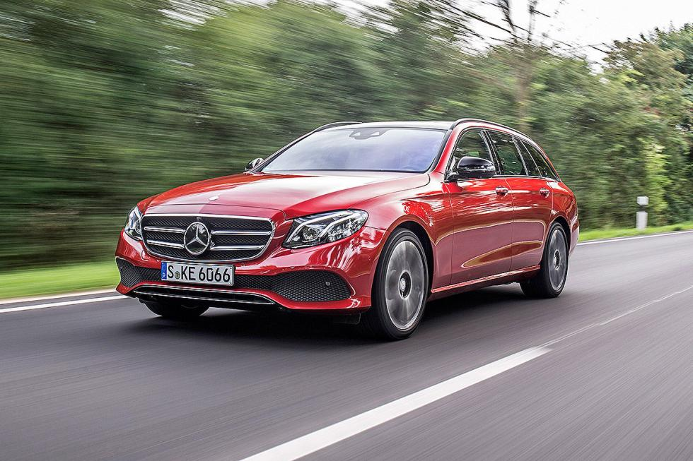 Prueba: Mercedes Clase E Estate 2016 parrilla