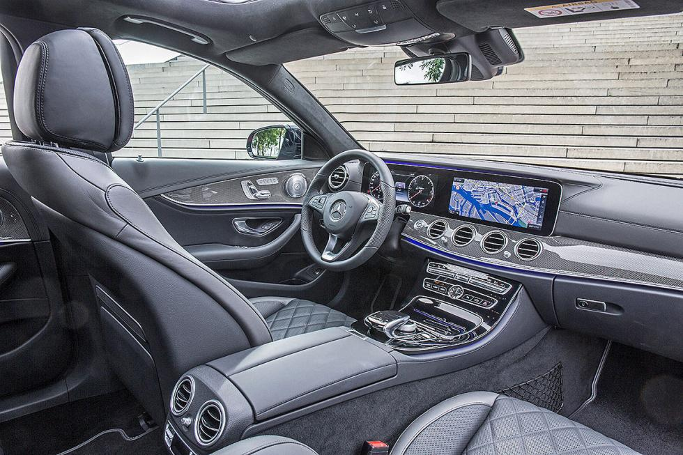 Prueba: Mercedes Clase E Estate 2016 asientos