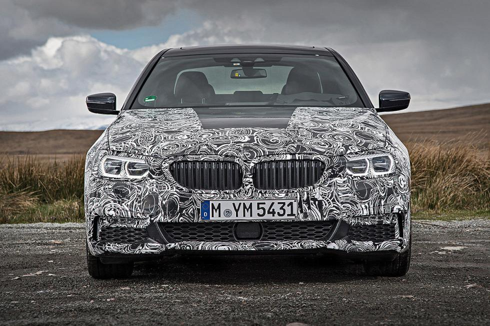 BMW Serie 5 2016 morro