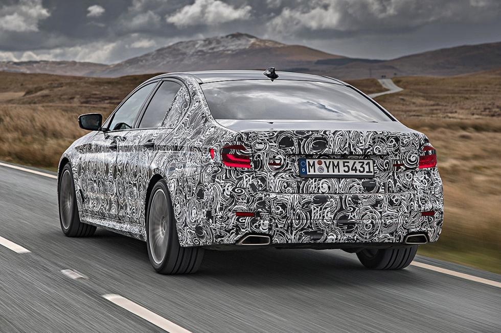 BMW Serie 5 2016 zaga