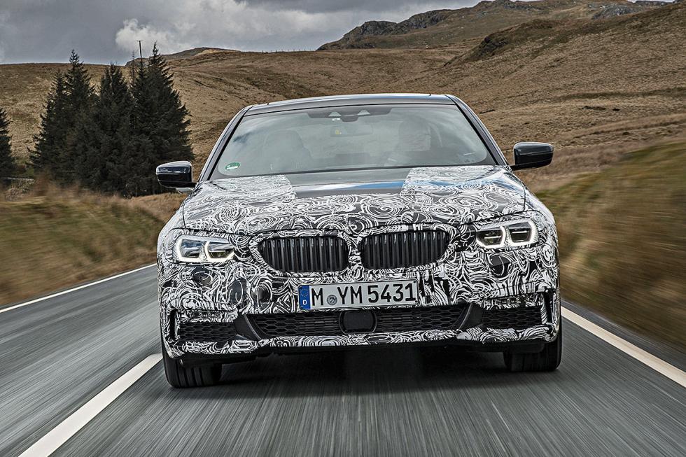 BMW Serie 5 2016 parrilla