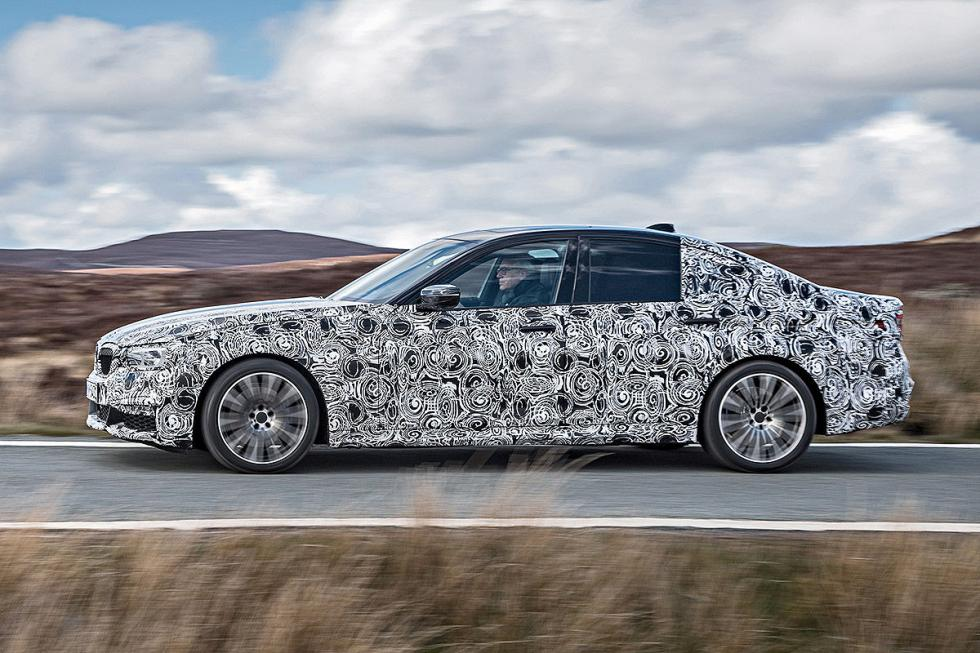 BMW Serie 5 2016 lateral